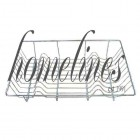 LARGE DELUXE CHROME DISH DRAINER
