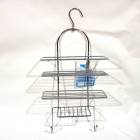 SHOWER CADDY WITH SOAP HOLDER