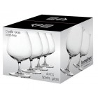 S/4 - SPIRITS GLASS 450ML  - CRYSTAL & LEAD FREE