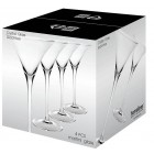 S/4 - MARTINI GLASS 300ML - CRYSTAL & LEAD FREE