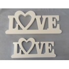 WOODEN LETTER DECO LOVE (SMALL)