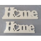WOODEN LETTER DECO HOME (LARGE)