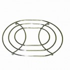 OVAL 10 QT DUTCH OVEN CHROME TRIVET
