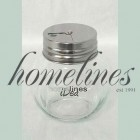 CLEAR ROUND SPICER JAR WITH S/S CAP [DISPLAY BOXED]
